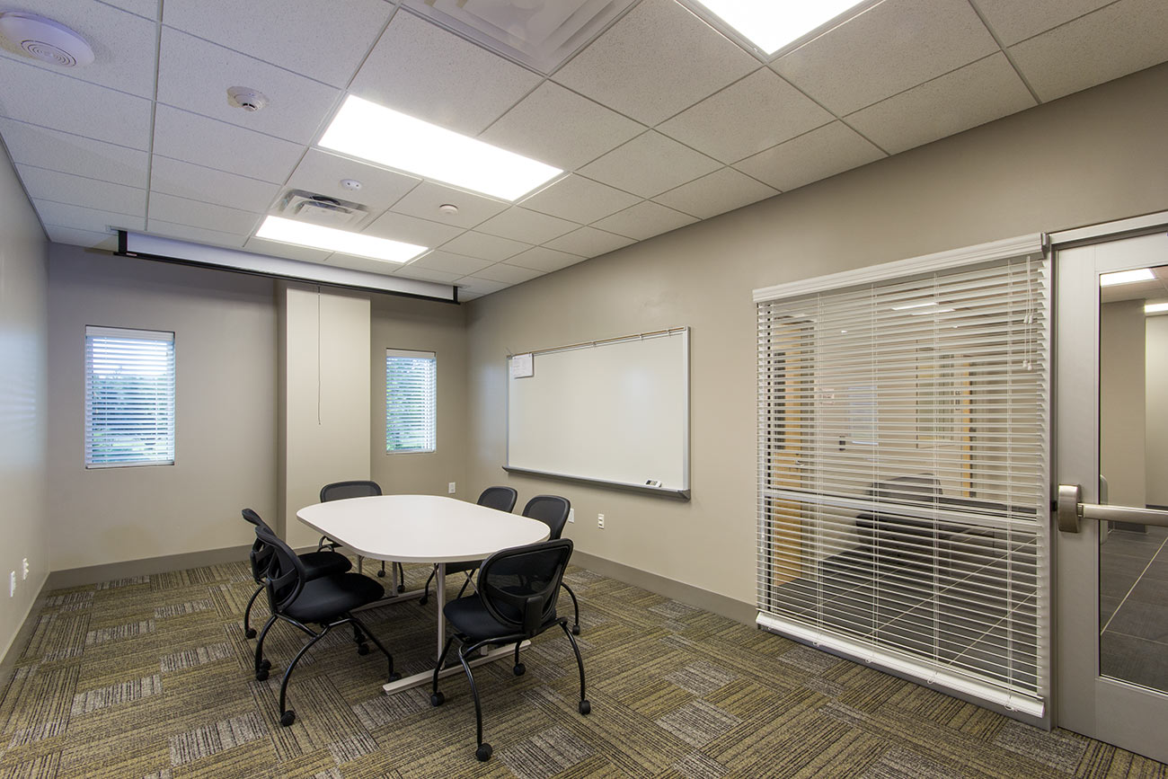 A meeting room in the BEMC Whiteville building